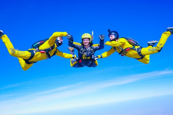 Courses - AFF Courses - Prices - Skydive Spain