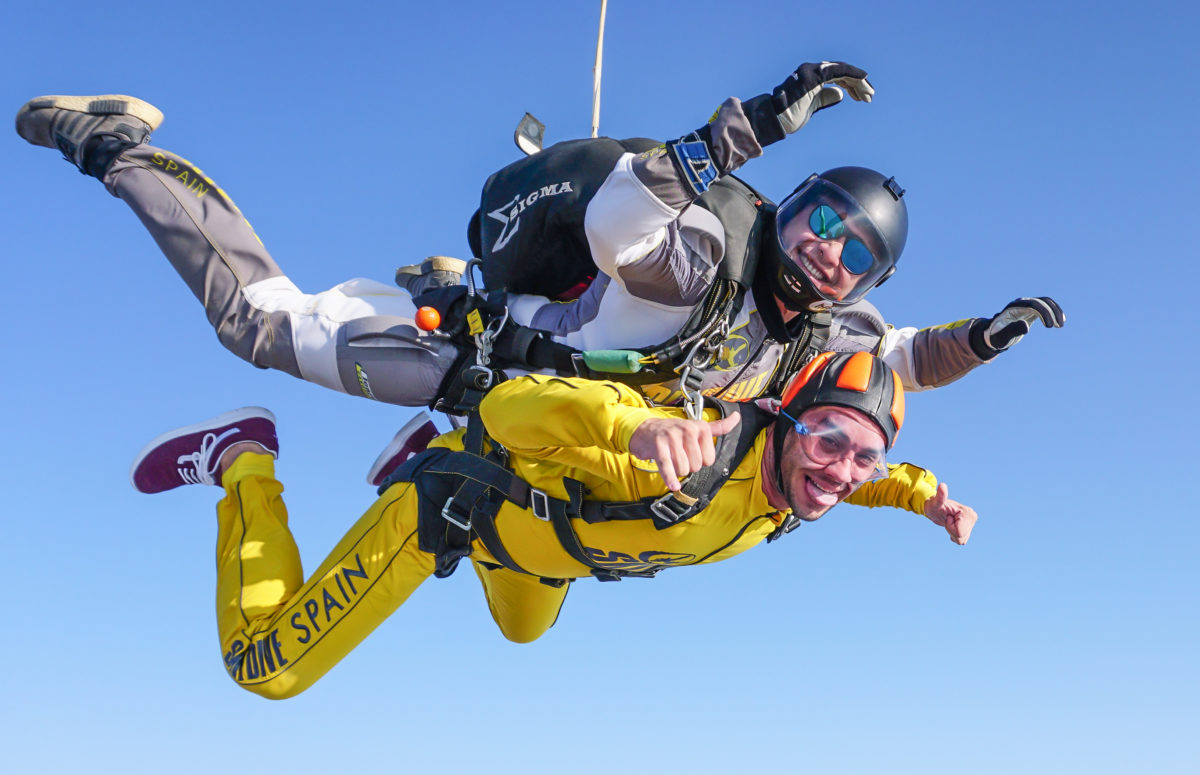 Tandem Skydiving | Europe's best place to make a skydive