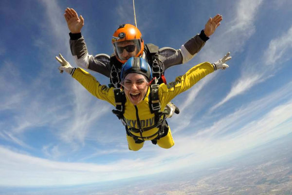 Tandem Skydiving   Europe's best place to make a skydive